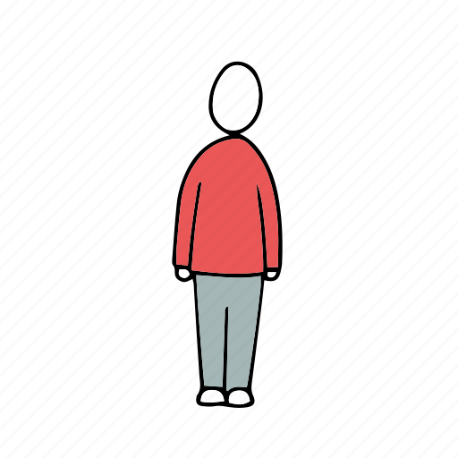 people, persons, standing icon