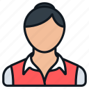 business, casual, female, headshot, people, person, profile icon