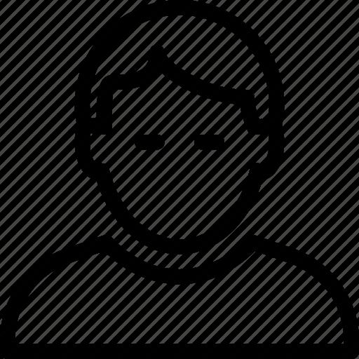 human, male, man, men, people, person icon