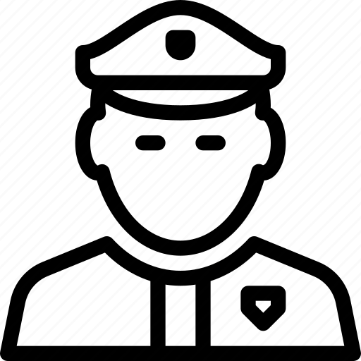 guard, person, police, protection, safety, security icon