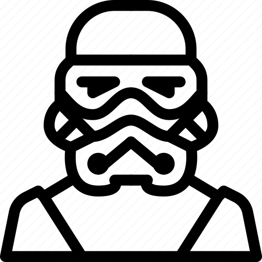 fictional, man, person, soldiers, stormtrooper icon
