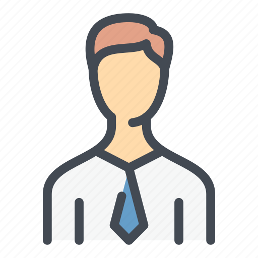 Account, avatar, business, male, man, person, user icon - Download on Iconfinder