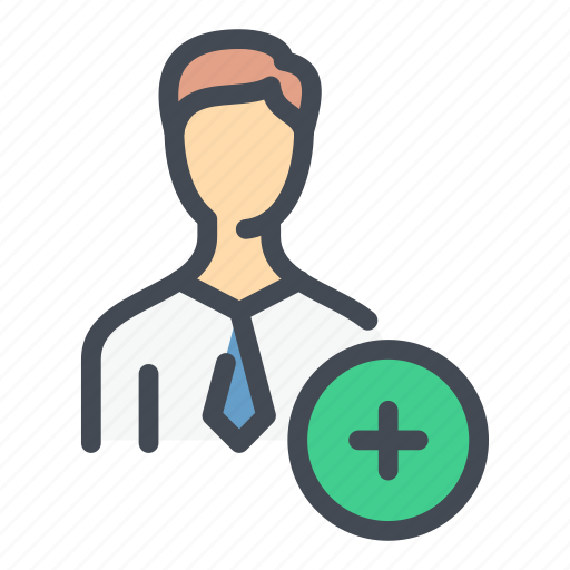 Add, avatar, create, new, person, profile, user icon - Download on Iconfinder