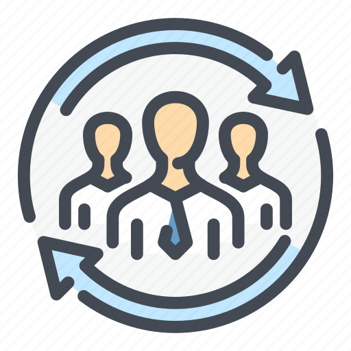 Business, change, people, replace, staff, team, update icon - Download on Iconfinder