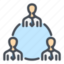 business, groupe, help, people, share, structure, work icon