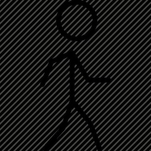 foot, move, step, stroll, walk icon