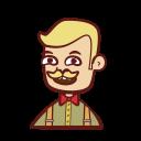 avatar, barman, bartender, man icon