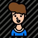 boy, men, man, avatar, user