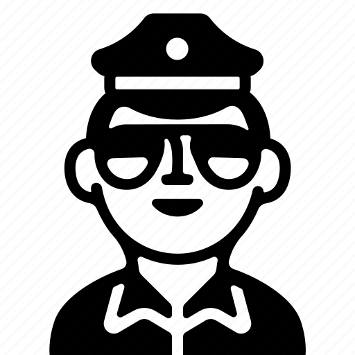 cop, crime, fbi, officer, police icon