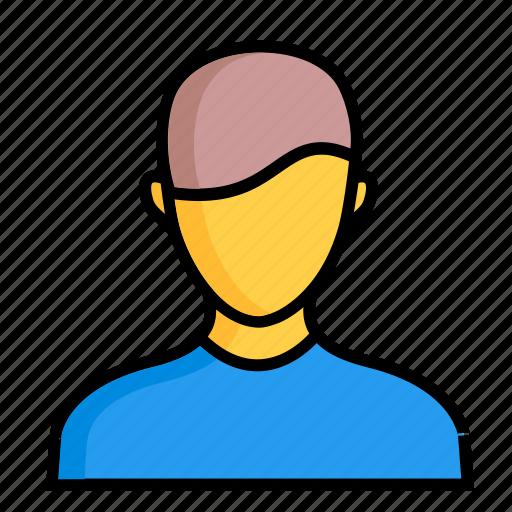 account, avatar, boy, child, guy, person, user icon