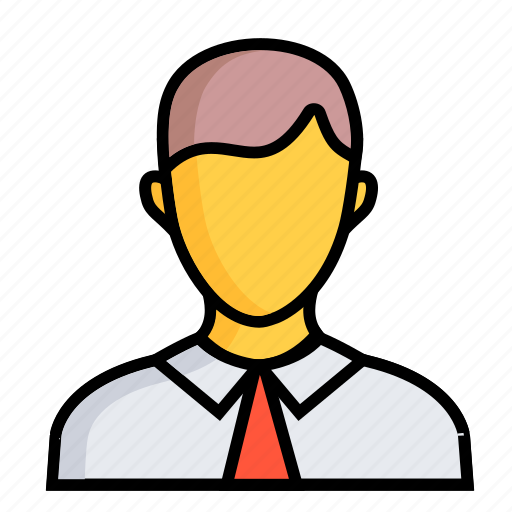 account, avatar, business, chart, marketing, men, people icon