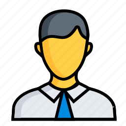 business, finance, man, marketing, men, office, worker icon
