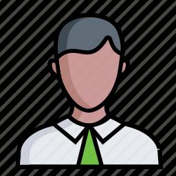 account, avatar, business, man, men, person, user icon