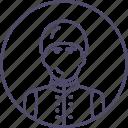 adult, guard, man, solider, uniform, warrior icon