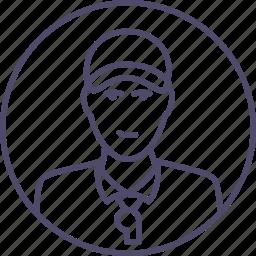 arbiter, judge, man, sport, sportsman, trainer icon