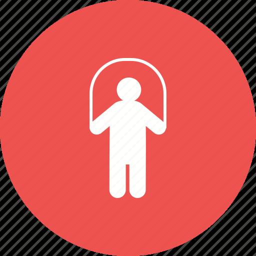 child, children, jump, kids, rope, school, skipping icon