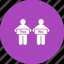 businessman, comparison, decision, evaluation, making, person