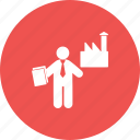 construction, industrial, industry, people, work, worker, workers icon