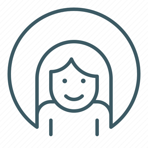 avatar, female, human, identity, person, woman icon