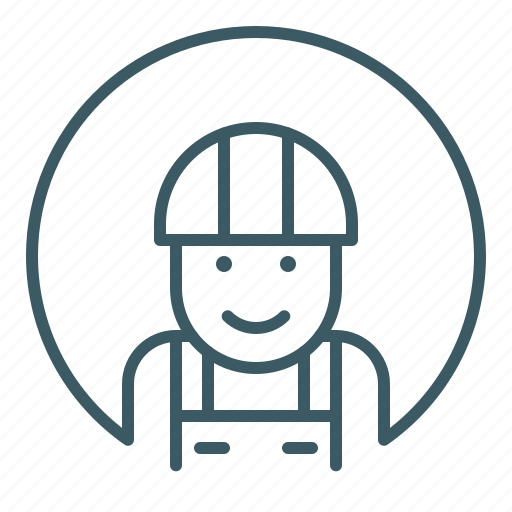 human, identity, job, person, work, worker icon