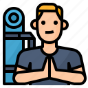 avatar, lifestyle, man, yoga icon