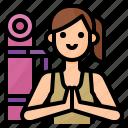 avatar, lifestyle, woman, yoga icon