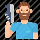 avatar, lifestyle, man, running