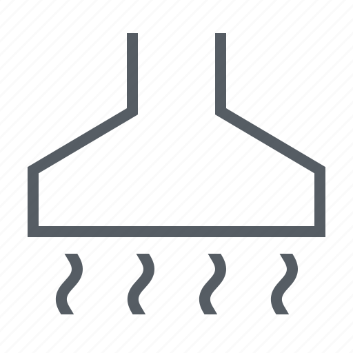 appliance, hood, kitchen, stove icon