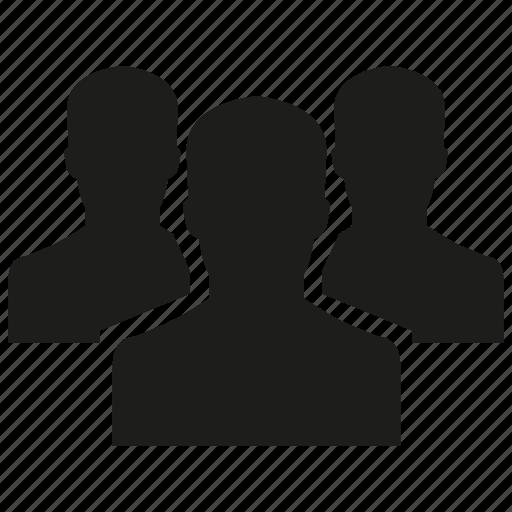 group, leader, man, people, team icon