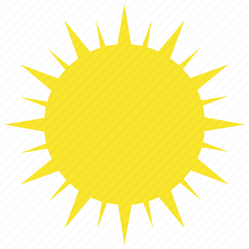 clear, hot, summer, sun, sunny, warm, weather icon