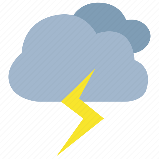 lightning, storm, stormy, thunder, thunderstorm, weather icon