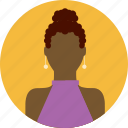 african, female, lady, people, person, sexy, woman icon