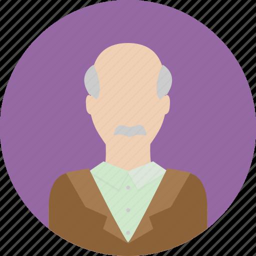 grandpa, guy, male, man, mature, people, person icon