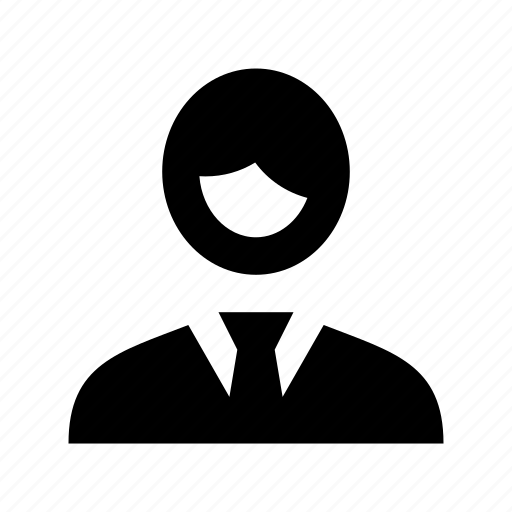 business person, businessman, manager, people character, profile picture icon
