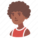african, afro, avatar, boy, male, man, teenager icon