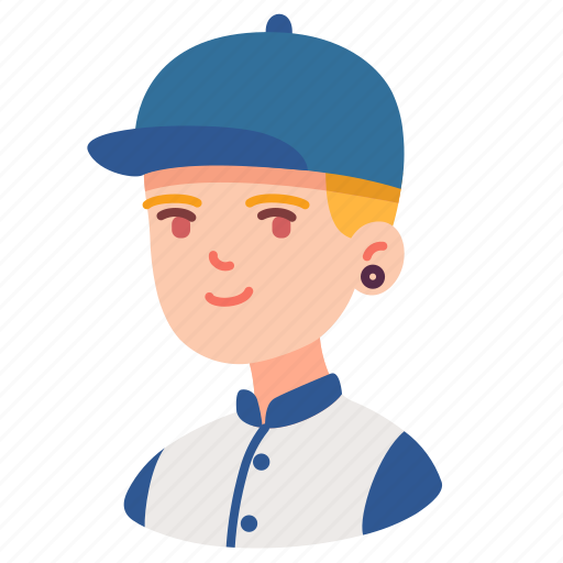 avatar, boy, hat, male, man, people, user icon