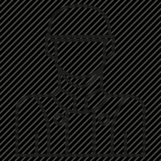 avatar, helmet, member, people, profile, soldier, user icon