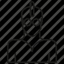 avatar, member, people, profile, punk, rocker, user icon