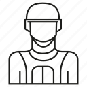 avatar, face, member, people, profile, soldier, user icon