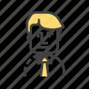 avatar, business, finance, person, user