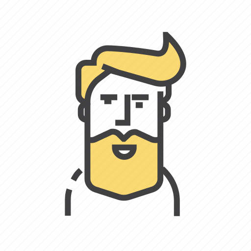 avatar, emoticon, face, man, person, user icon