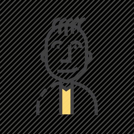 avatar, face, male, man, profile icon