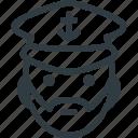 avatar, captain, head, people, saylor, see, ship icon