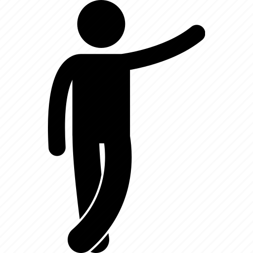 body, human, people, posture, reaction, standing icon