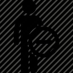 human, sign icon