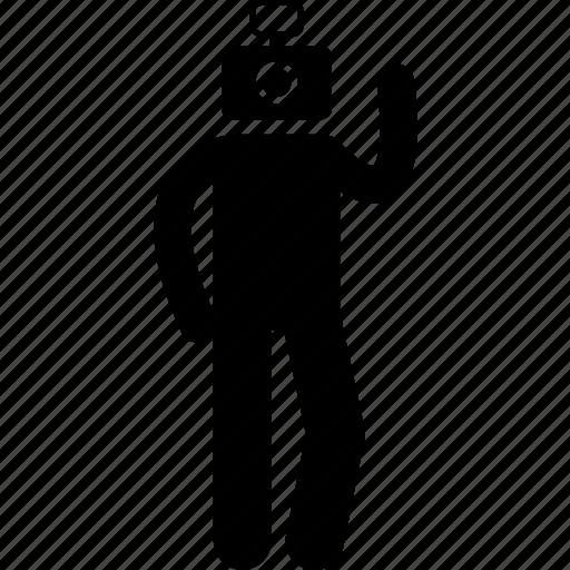 attidude, behaviour, characteristic, human, photogenic icon