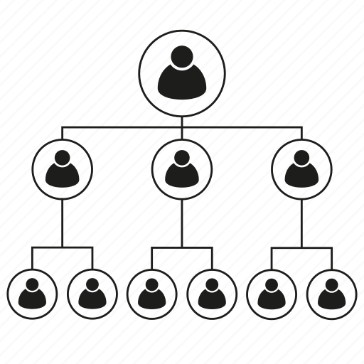 business, connect, leader, management, organization chart, people icon