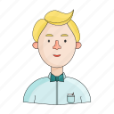 appearance, arbitrator, clothing, image, person, profession, referee icon