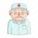 appearance, clothing, doctor, image, medic, person, profession icon