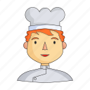 appearance, chef, clothing, cook, image, person, profession icon